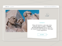 Monument to the Discoveries II / Homepage Section