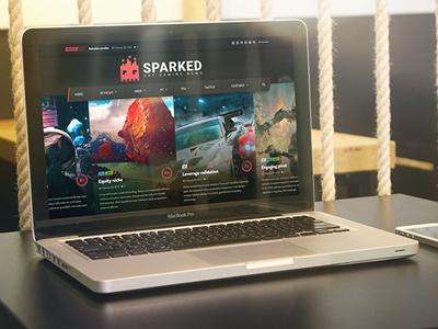 Sparked Logo Design