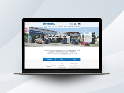 Autohaus Zückner - Branding design logo brand ux ui webdesign branding