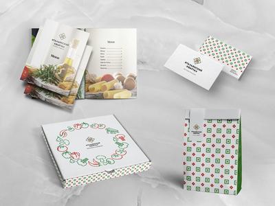 Visual brand identity Italian quarter