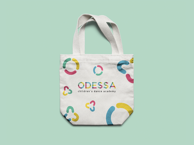Dance bag photoshop multi-colored pattern logotype branding logo vector identity graphic design dance bag dance bag
