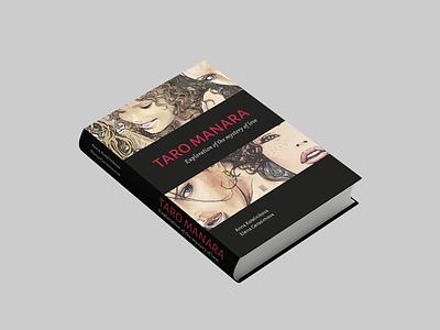 Book design design book red exploration mystery love manara typography taro identity vector graphic design
