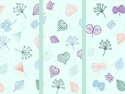 Pattern The heal tea pattern illustration identity vector graphic design
