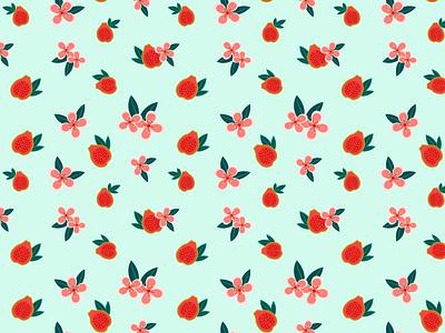 Guava pattеrn icon illustration pattern branding identity vector graphic design