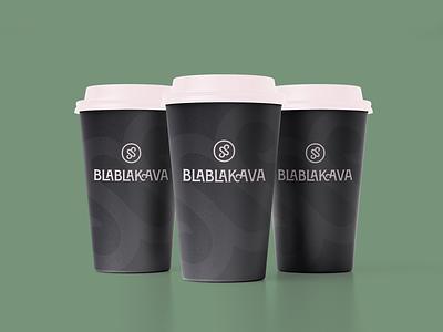 Blablakava Identity coffee kava bla pattern icon logotype branding logo identity vector graphic design