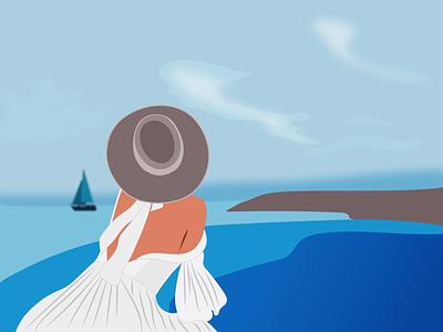 Dreamer illustrator illustration identity vector graphic design