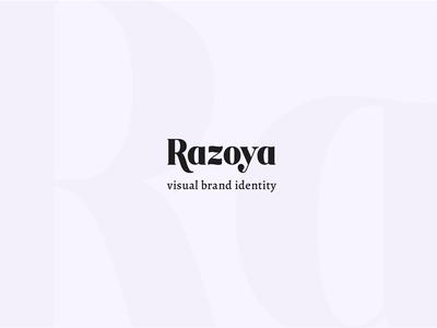 Razoya visual brand identity