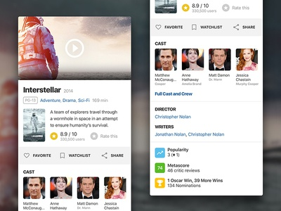 IMDb Movie Card (mobile)