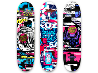 Santacruz skate deck concept (ideas)