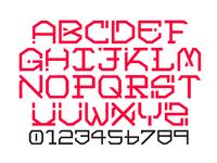 Tech-nique font