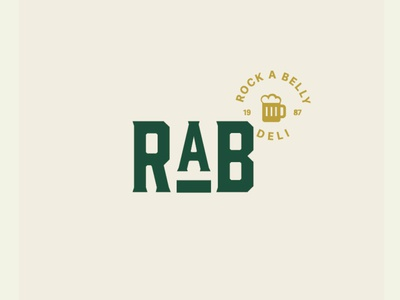 RAB Visual Identity design