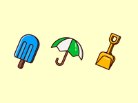 Summer Icons 01