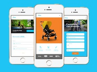 Kiddy Strollers Website Concept