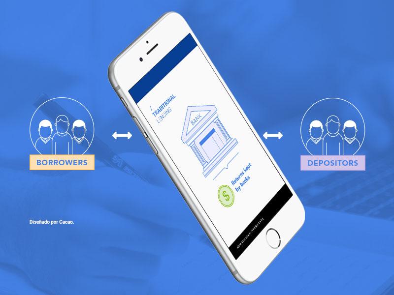 Illustrations for finance platform vector design mobile app finance infographic illustration
