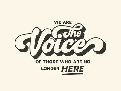 WE ARE THE VOICE