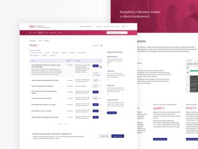 Platform for sharing banking expert reports
