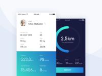 RunFree With Us! - Mobile App Design Concept