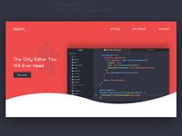 Code Editor Landing Page Thumbnail