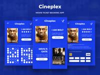 Cineplex - A Movie Ticket Booking App