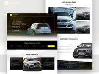 Z3autosource - a car resell ecommerce website