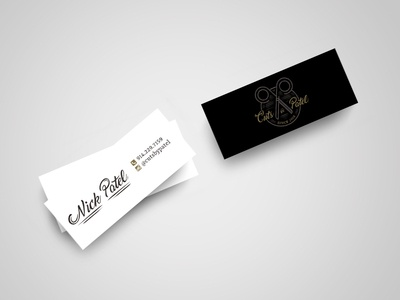 Cuts by Patel Business Cards