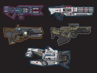 Destiny 2 Guns