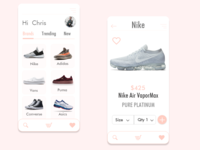 Sneakers Shopping App