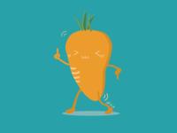 dancing carrot