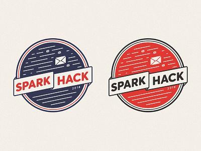 SparkPost 2018 Hackathon tshirt hackathon sparkpost logo email