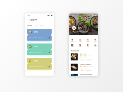 Coupon Page - App