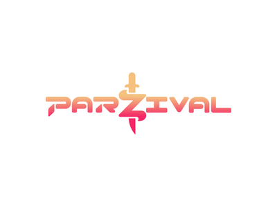 Parzival's logo from Ready Player one ready player one rpo rp1 2d logo sworen percival parzival illustrator movie