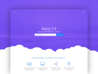 Daily UI Day 100 | Daily UI Landing Page