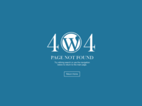 Wordpress 404