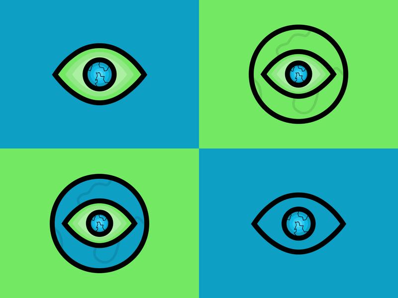 新视界logo logo ui design