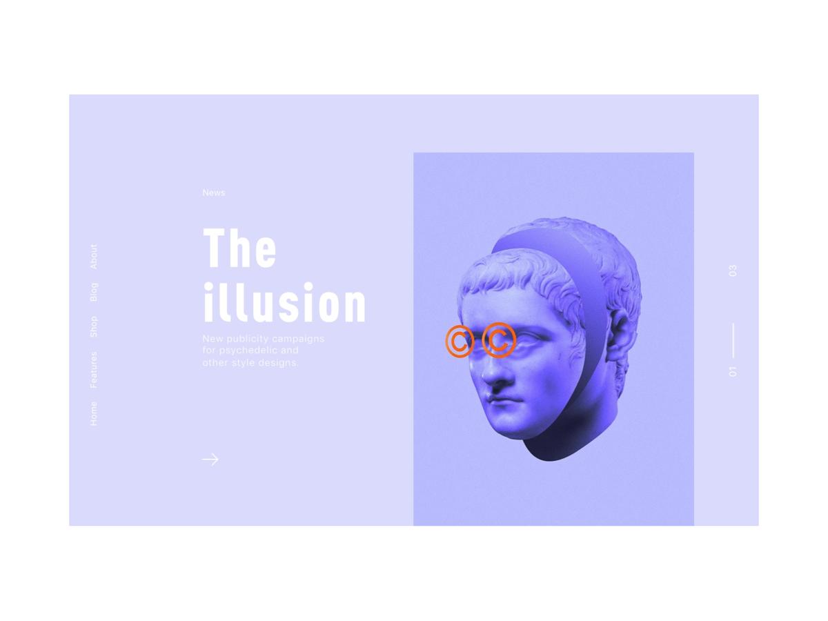 the illusion ui fashion design