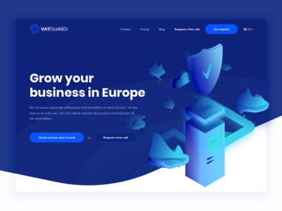 Taxes Landing Page