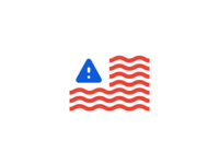 America Right Now warning alert america flag