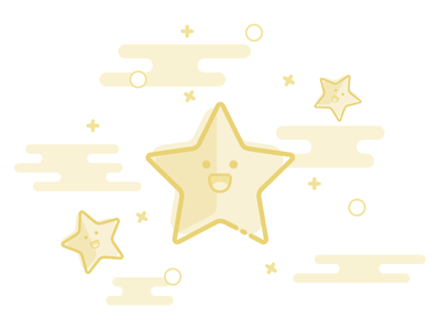 Empty State for Favorite favorites stars ux ui mobile app app sketch illustrations state empty empty states empty state