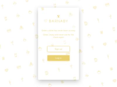 Homepage shot - Barnaby App