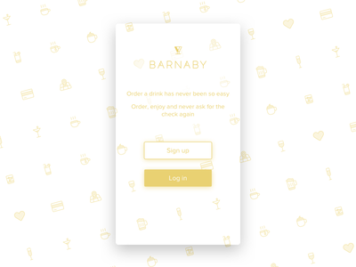 Homepage shot - Barnaby App homepage illustration shot app ui design interface iteration iterate