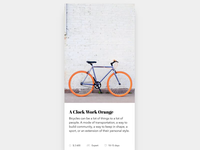 Cards Bike Swipe