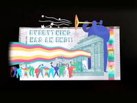 "My ""5 Euro Challenge"" AR/mapped design aria platform mapping augmented reality euro cash money 5eurochallenge character animation character design aftereffects mauro mason deckard977 2d motion design motiongraphics"