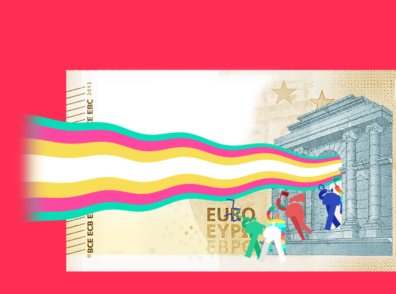 "My ""5 Euro Challenge"" design 5eurochallenge mapping augmentedreality euro cash money character animation character design after effects mauro mason deckard977 motion design motiongraphics"