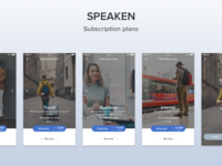 Speaken - Subscriptions