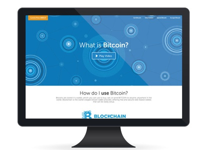 Bitcoin CSS Animated Illustration