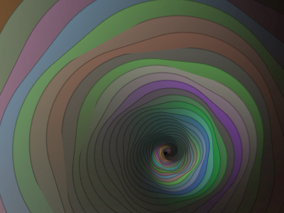 Spiral Caves css3 javascript animation in-browser