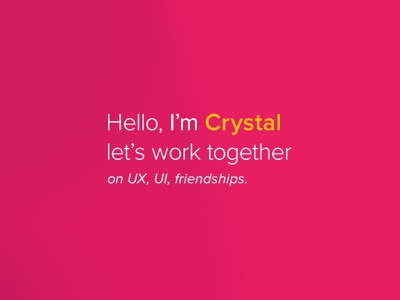 Let's Work Together! hire friendships product responsive mobile web design ux ui
