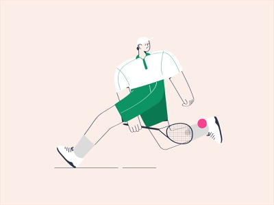 Playing Tennis shoes cloth character design character design playing tennis ball tennis player tennis shoes tennis illustration
