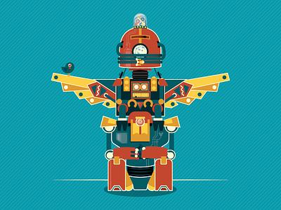 Robototem robots
