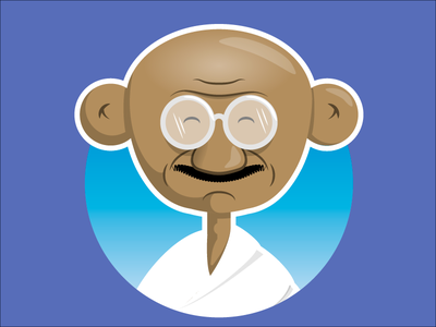 Gandhi character human rights gandhi